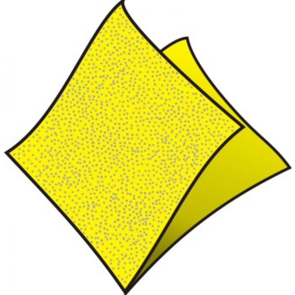 Servítky 33 x 33 cm, 1 vrstva, žlté