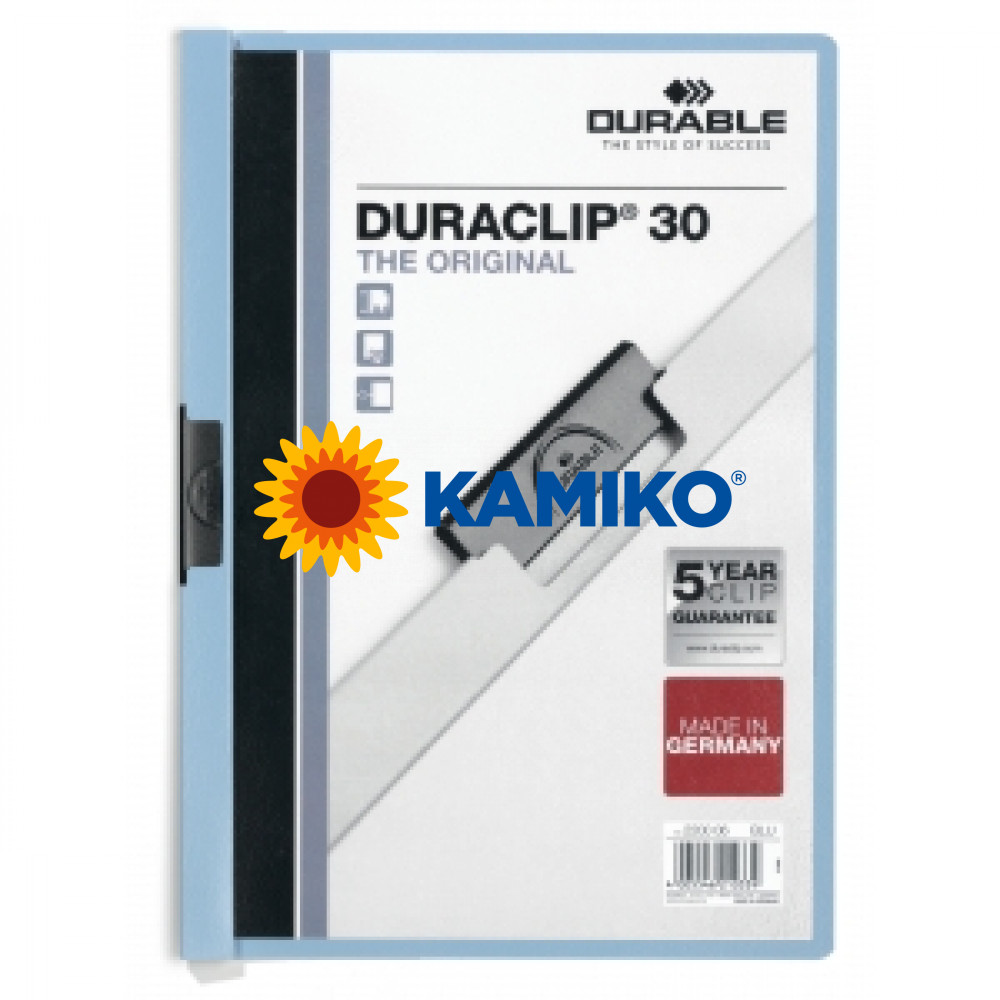 DURACLIP Original 30 svetlomodrý