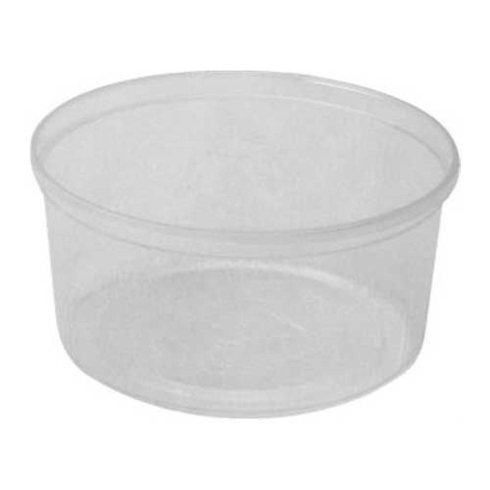 Miska okrúhla priehľadná 250 ml