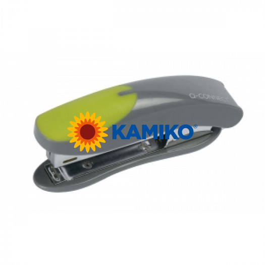 Zošívačka Q-Connect  KF00991 čierna/zelená na 10 listov