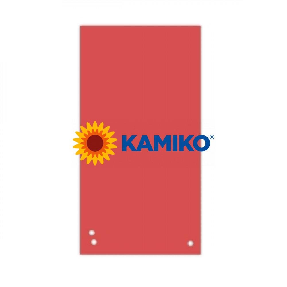 Kartónový rozraďovač úzky červený 105x235mm