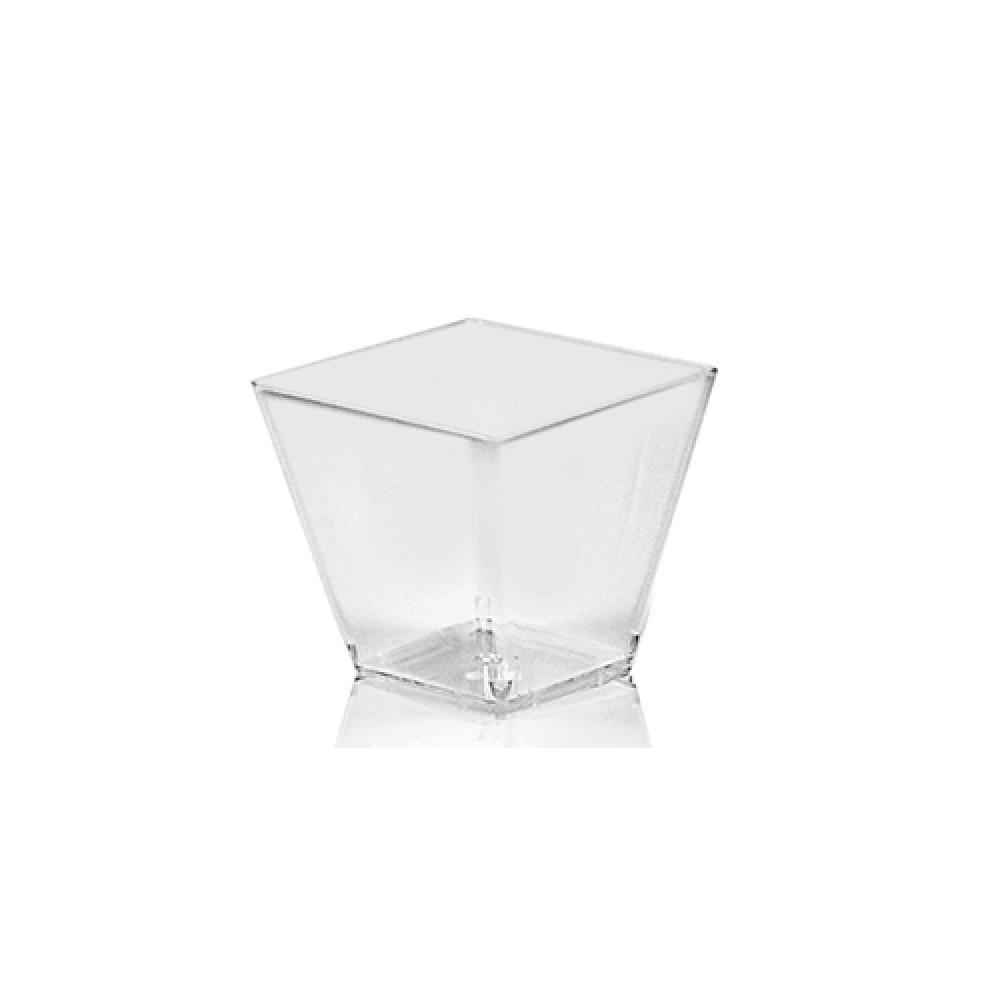 Fingerfood pohárik hranatý číry - 100 ml