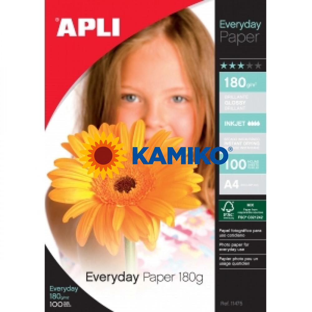 Fotopapier APLI A4 Everyday 180g, 100 hárkov