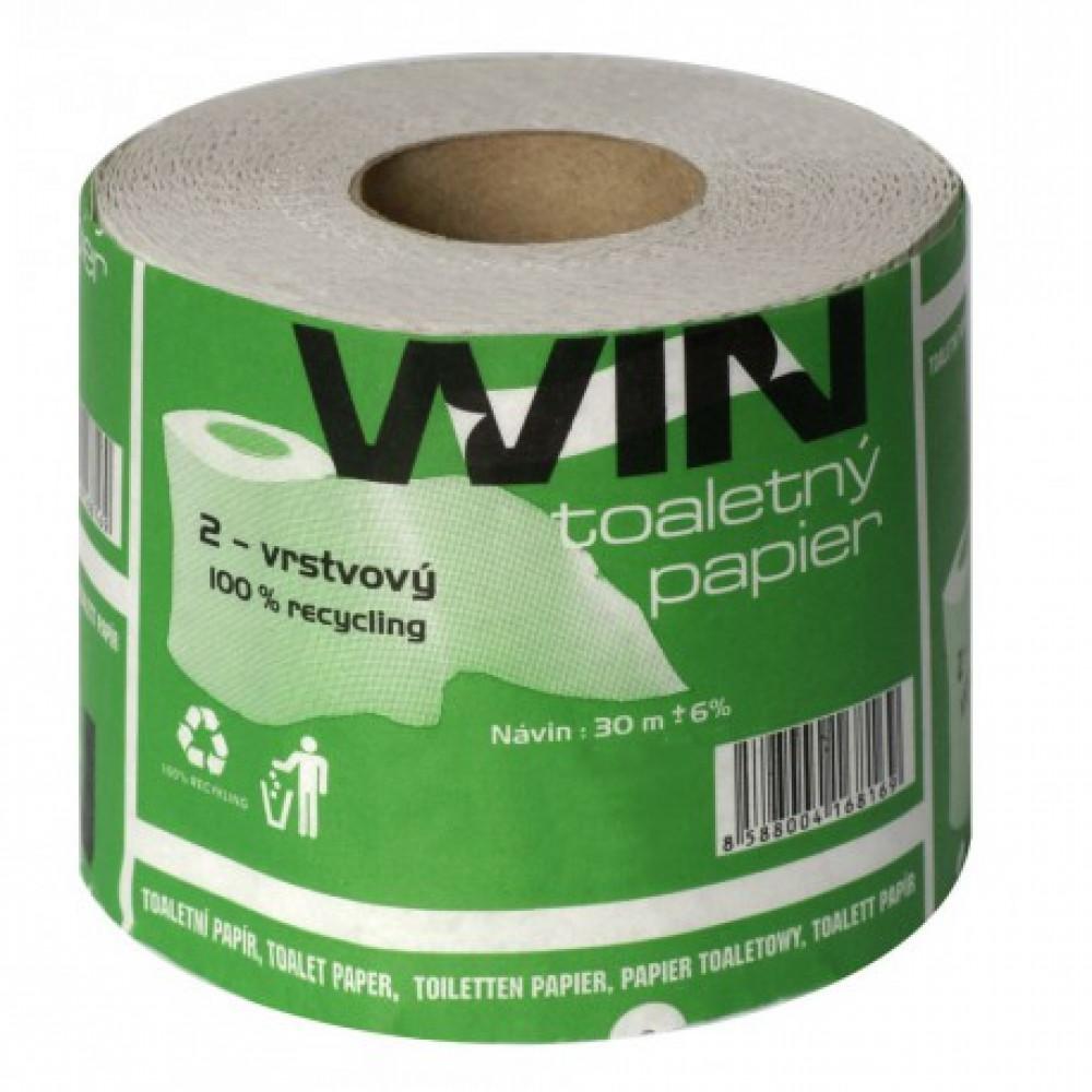 Toaletný papier 2vr WIN Classic 30m, natural
