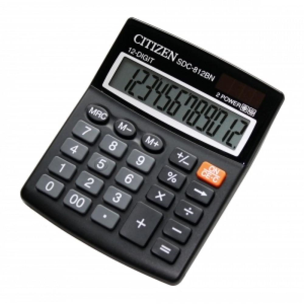 Kalkulačka Citizen SDC-812 BN