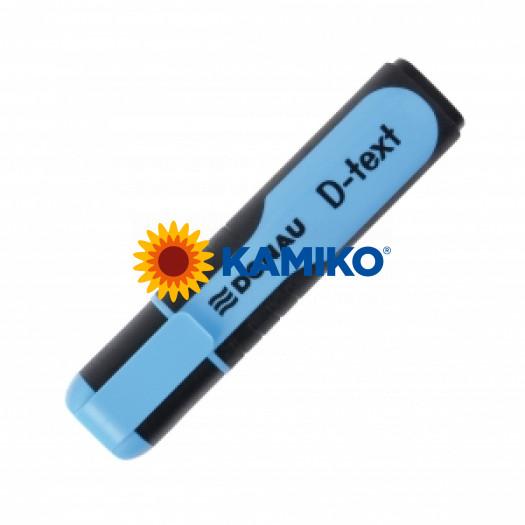 Zvýrazňovač DONAU D-text modrý