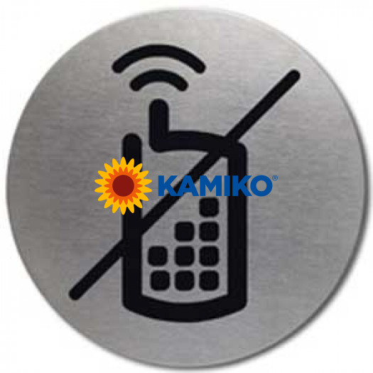 Piktogram Mobilné telefóny zakázané