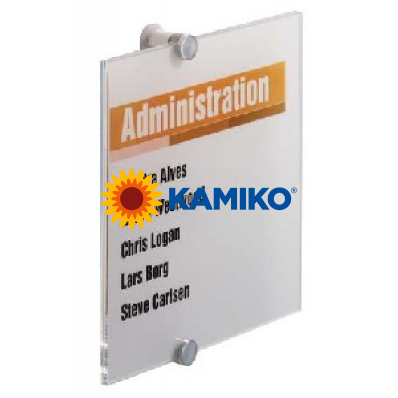 Informačná tabuľka Crystal Sign 210 x 210 mm