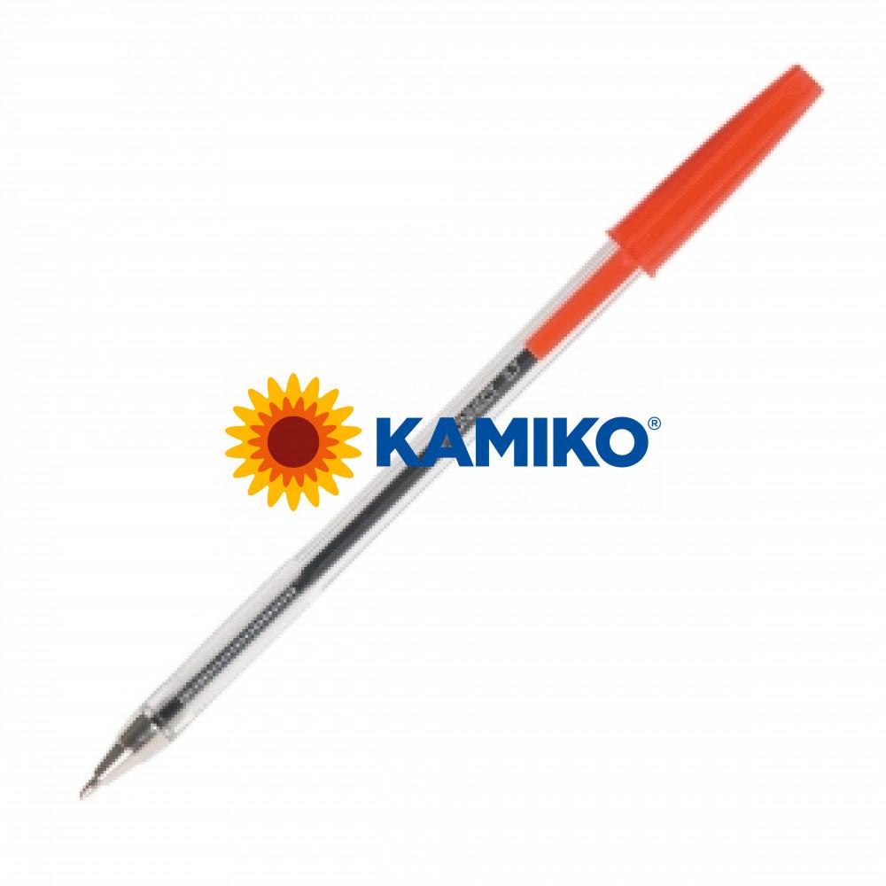 Jednorázové guličkové pero Q-CONNECT M červené