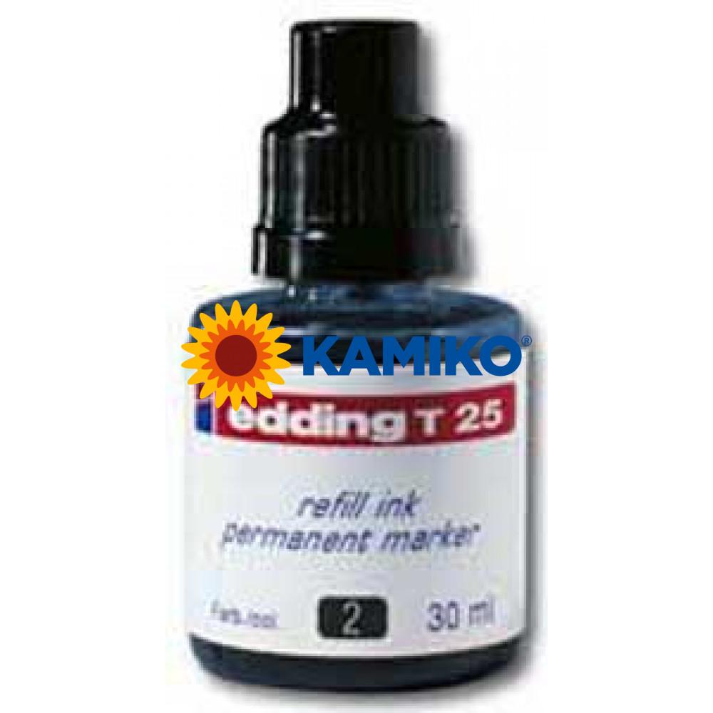 Atrament edding T 25 modrý