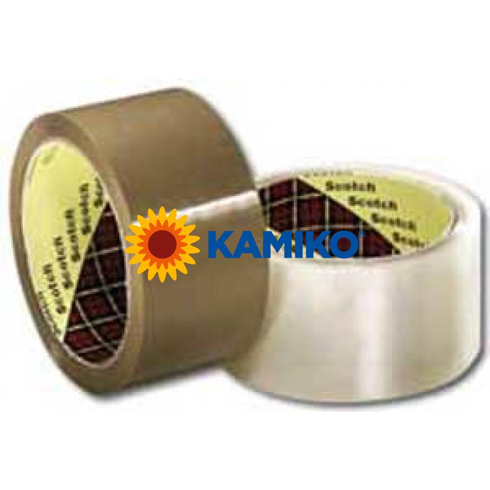 Baliaca páska Scotch hnedá 50mmx66m
