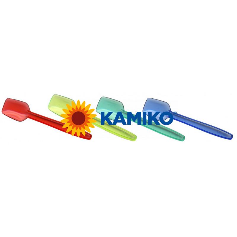 Zmrzlinová lyžička farebná mix 9 cm