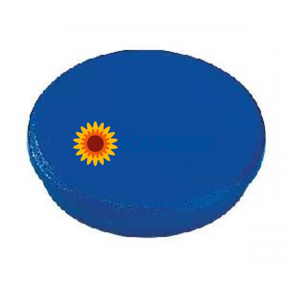Magnet 32 mm modrý