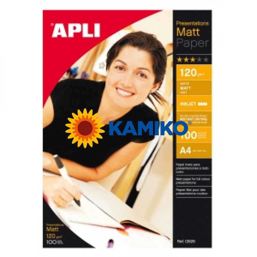 Fotopapier APLI A4 matný 120g, 100 hárkov