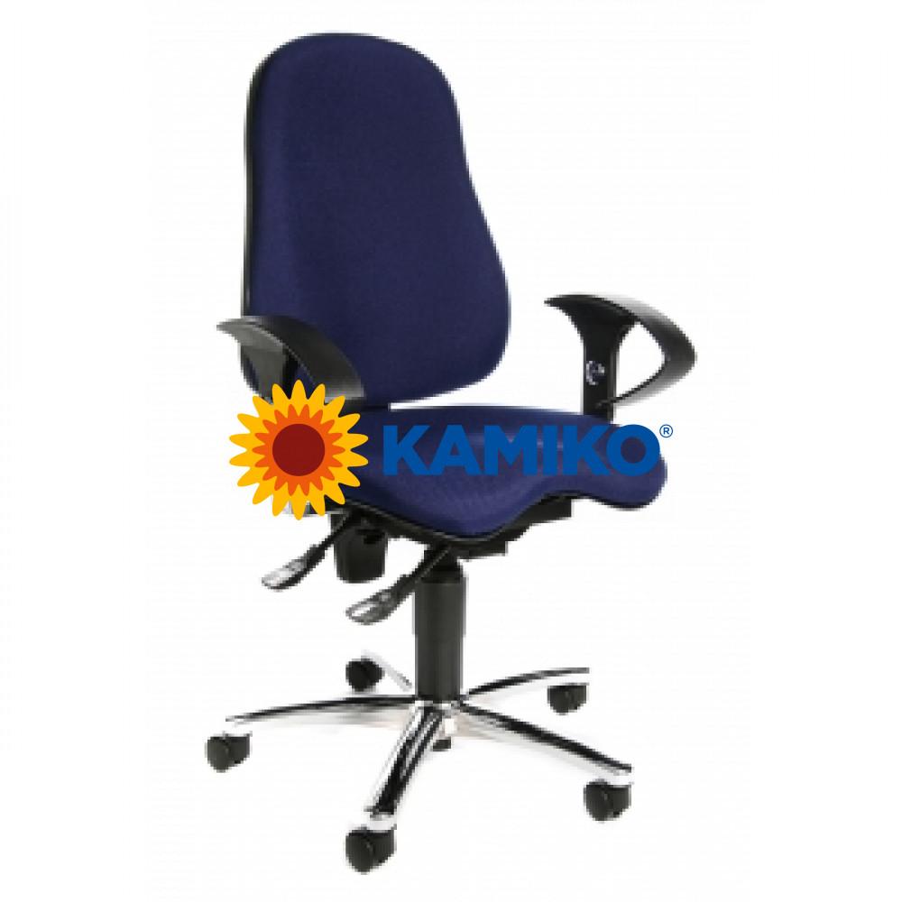 Kancelárska stolička Sitness 10 modrá