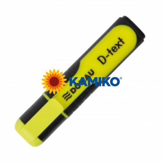 Zvýrazňovač DONAU D-text žltý