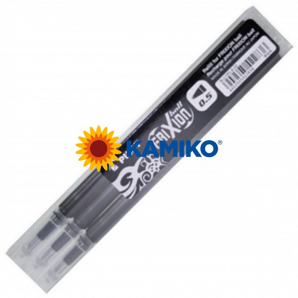 Náplň pre roller Frixion 0,5mm  3ks čierna