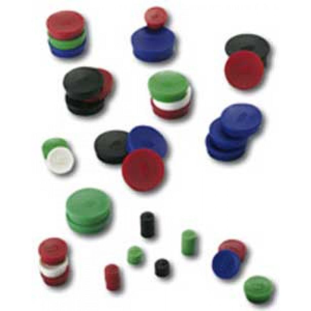 Magnet 20 mm červený 10 ks