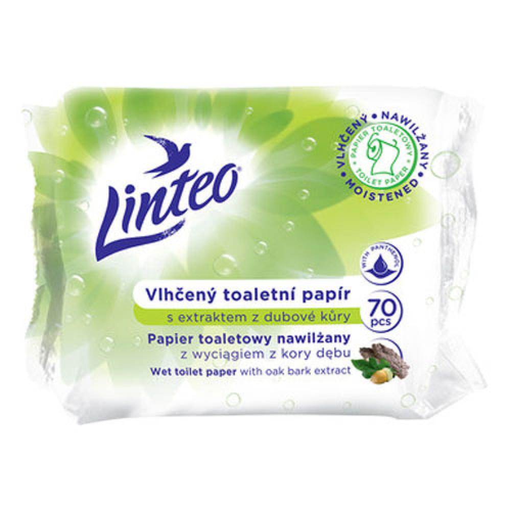 Toaletný papier vlhčený LINTEO dubová kôra