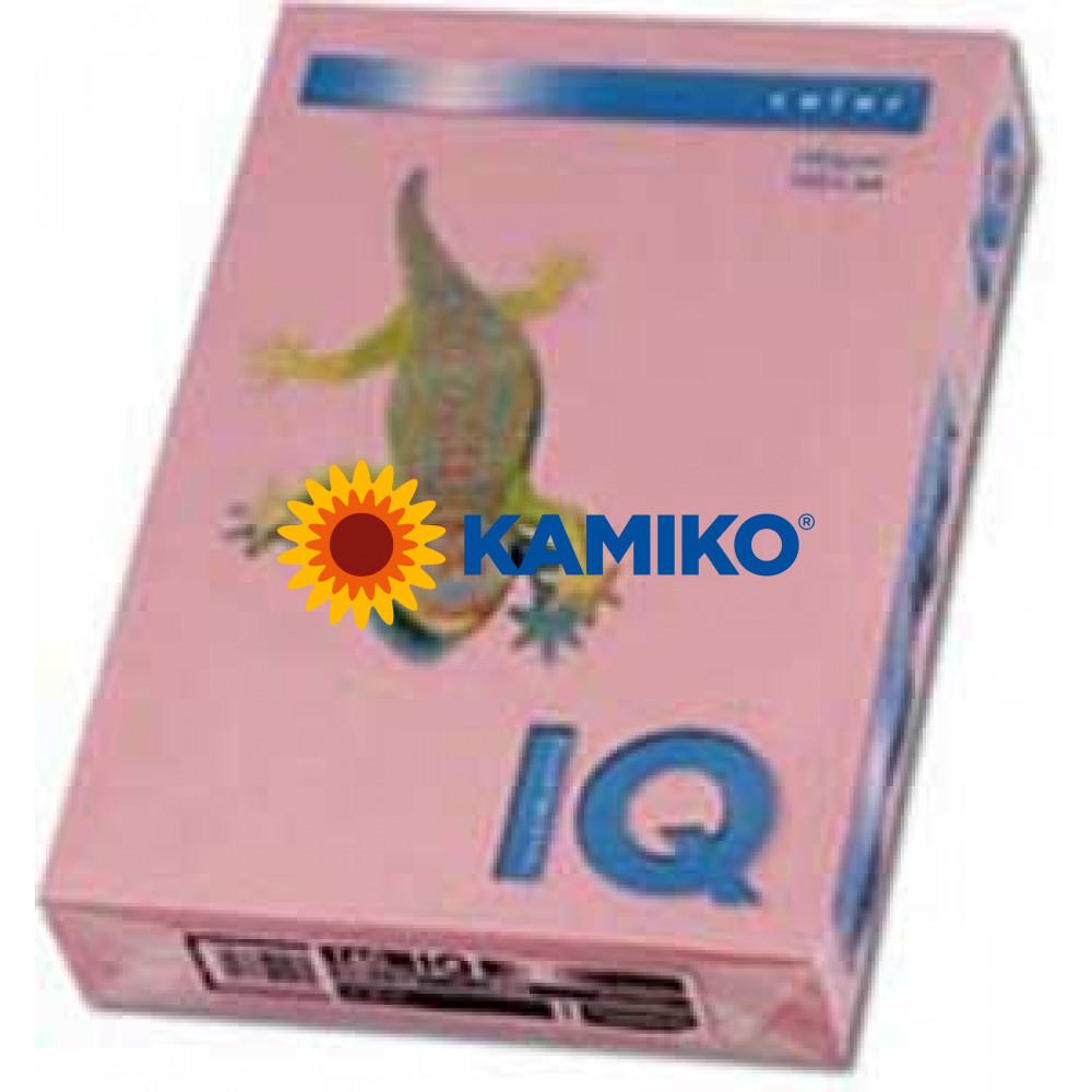Kopírovací papier 160g A4 IQ color ružový PI25