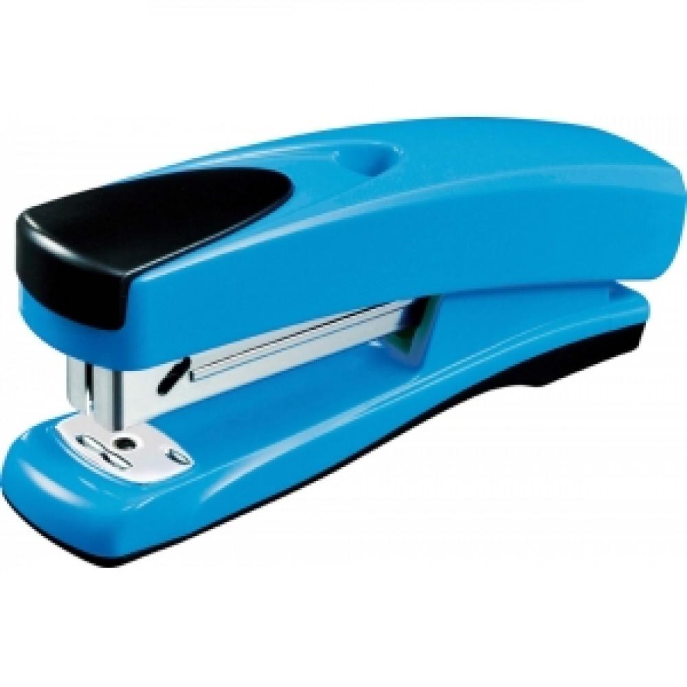 Zošívačka Q-Connect KF02149 modrá na 25 lstov