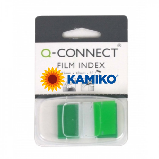 Index Q-CONNECT široký zelený
