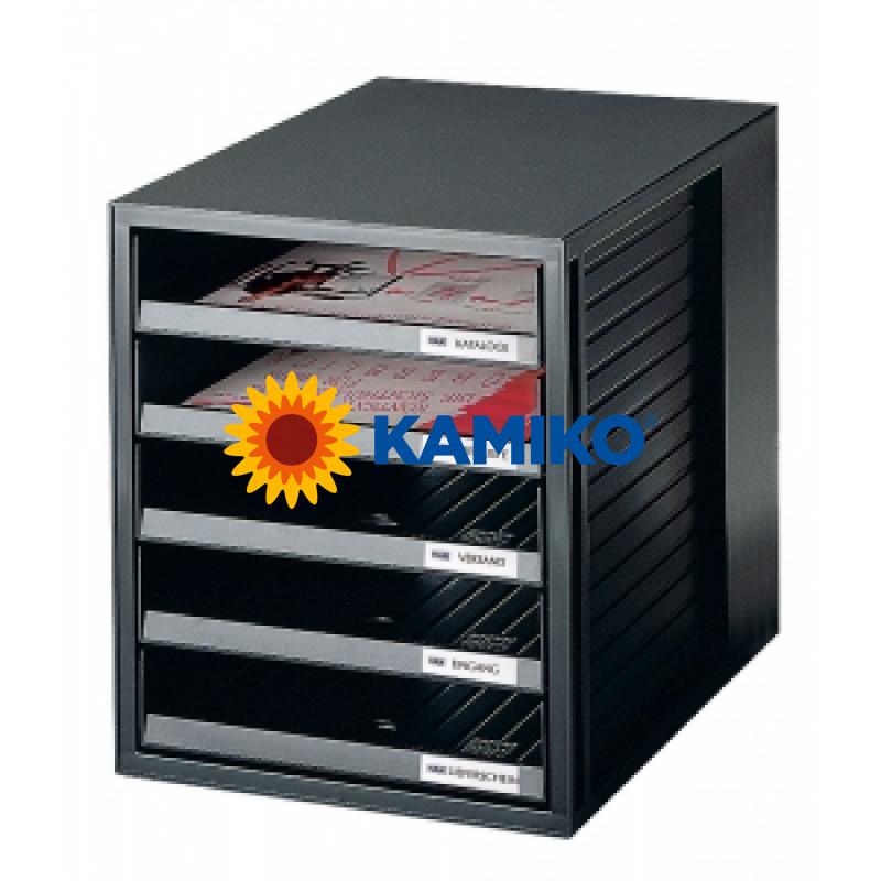 Zásuvkový box Cabinet čierny