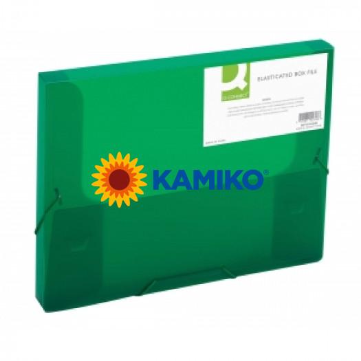 Box na dokumenty Q-Connect zelený
