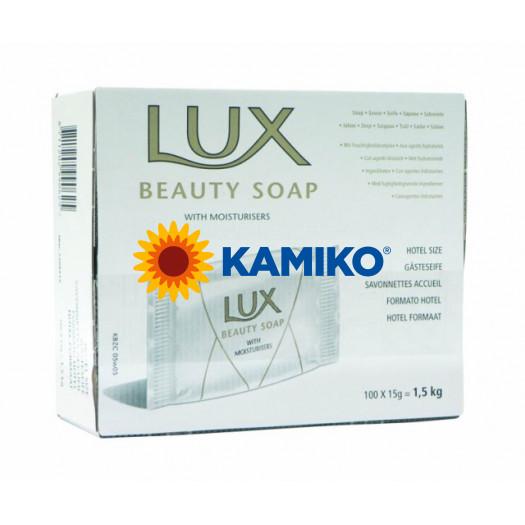 Toaletné mydlo LUX BEAUTY 15g v krabičke
