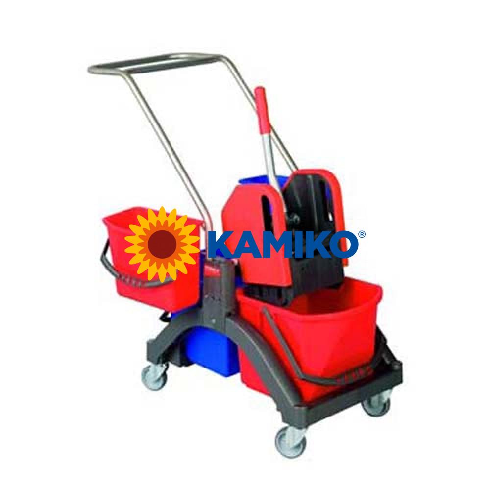 Upratovací vozík Vermop AQUVA VIZ Press 2 x 17 l