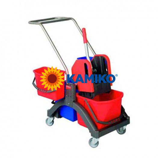 Vozík upratovací AQUVA VIZ Press 2 x 17 l