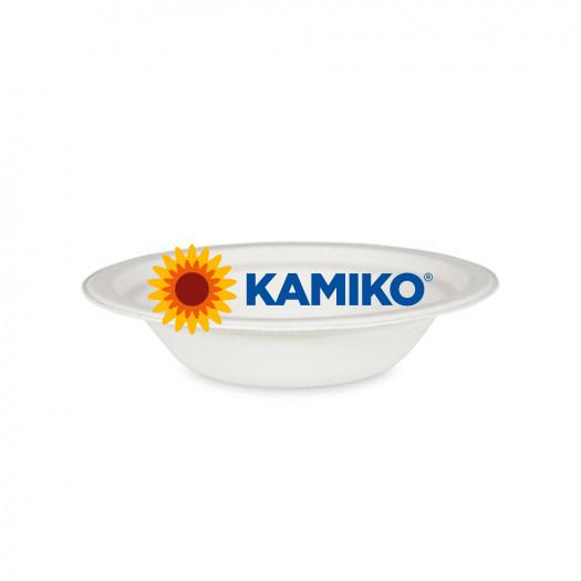 Miska okrúhla BIO cukrová trstina 400 ml, Ø 18 x 4 cm, 50 ks/balenie