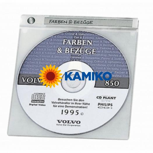 Vrecko na CD/DVD s potláčateľným indexom