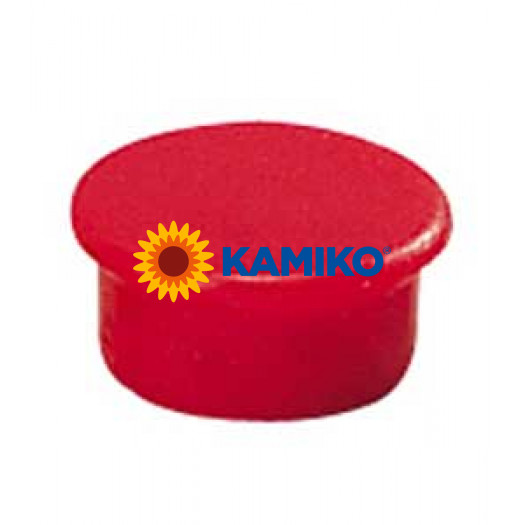 Magnet 13 mm červený