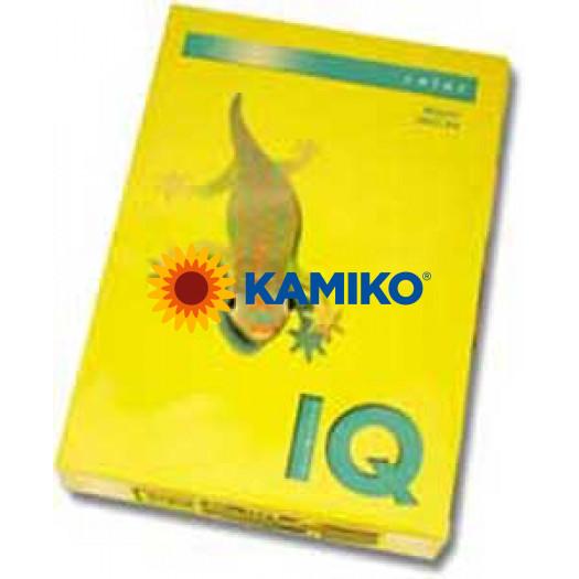 Kopírovací papier 160g A4 IQ color intenzívne žltý IG50