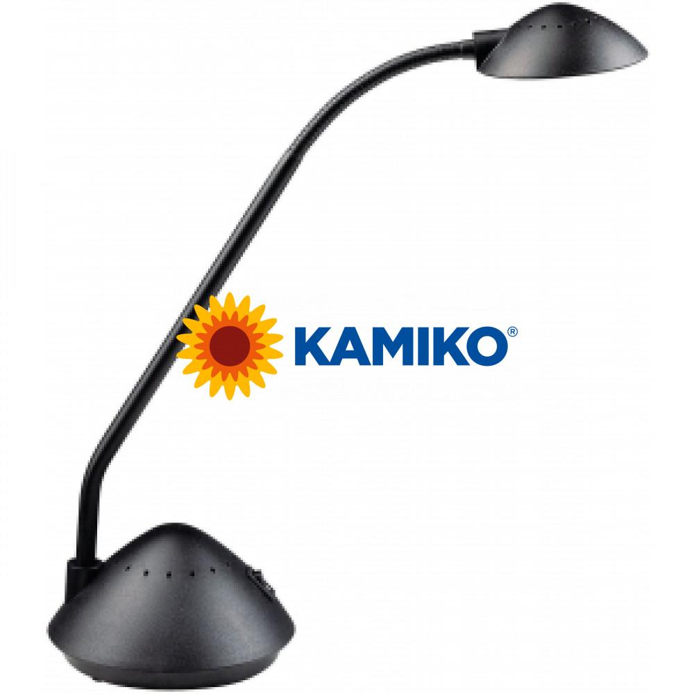 Halogénová lampa stolová MAULarc čierna