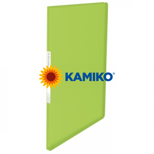 Katalógová kniha mäkká Esselte VIVIDA 20 zelená