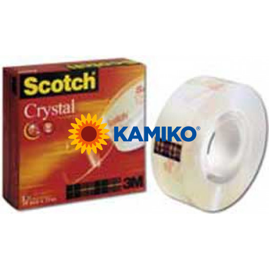Lepiaca páska Scotch 600 v krabičke 12mm x 33m