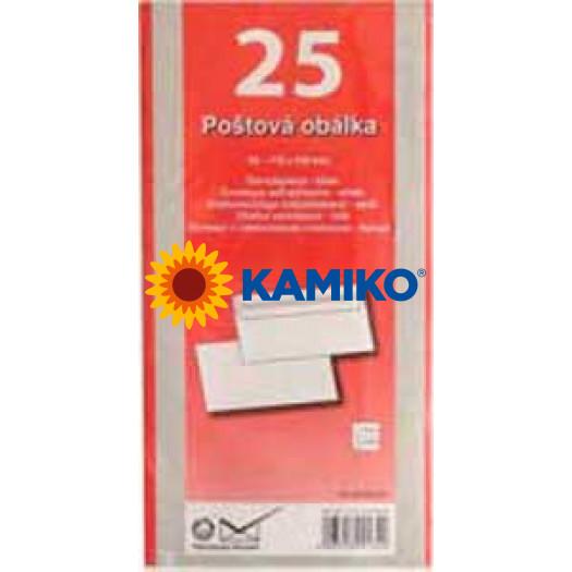 Poštové obálky DL samolepiace, 25 ks