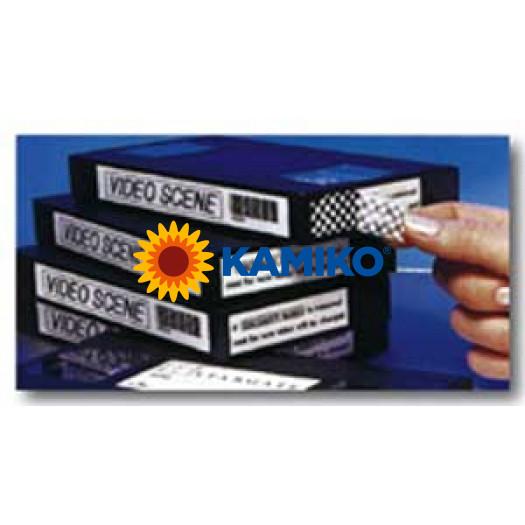 TZe-SE4 Páska bezp.18mm biela/čierna
