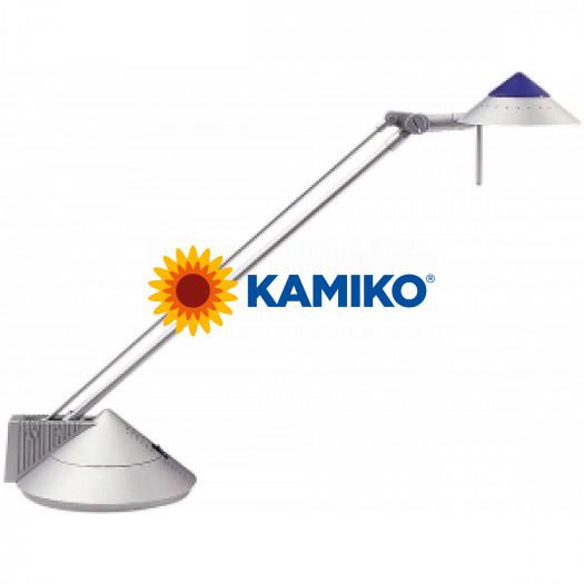 Halogénová lampa stolová MAULpica strieborná
