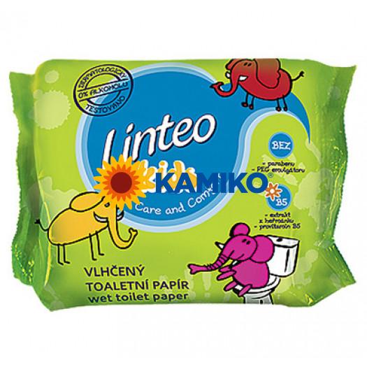 Vlhčený toaletný papier LINTEO KIDS