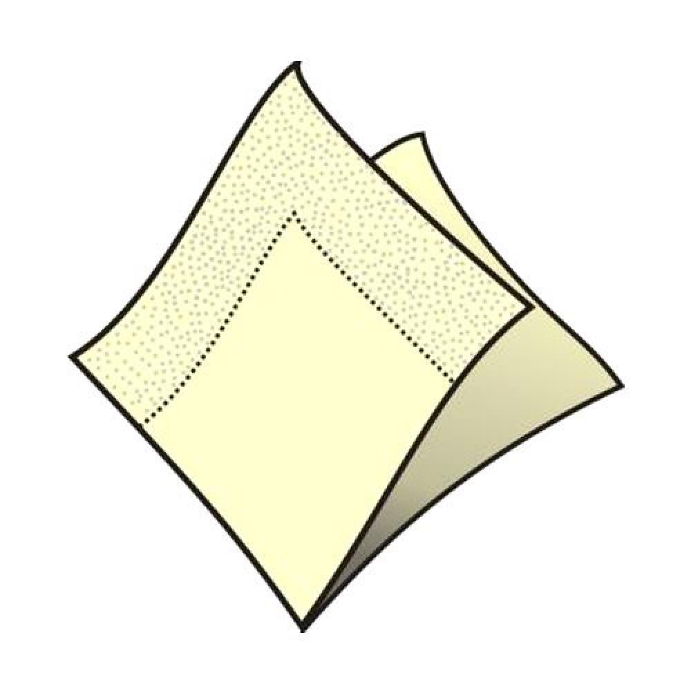 Servítky koktejlové 24 x 24 cm, 2 vrstvy, béžové