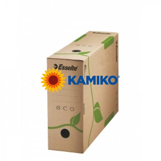 Archívny box Esselte ECO 100mm hnedý