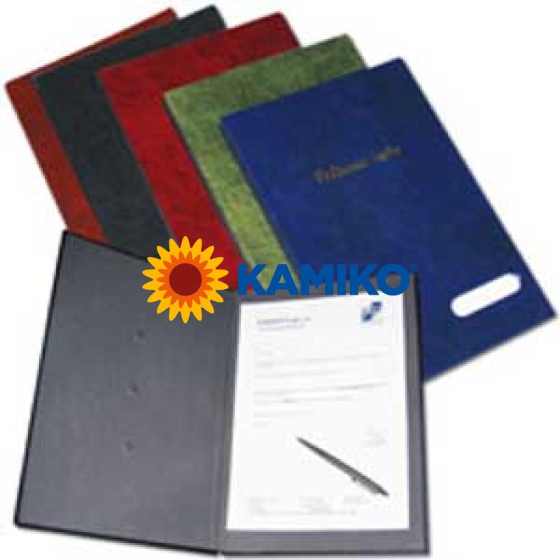 Podpisová kniha modrá