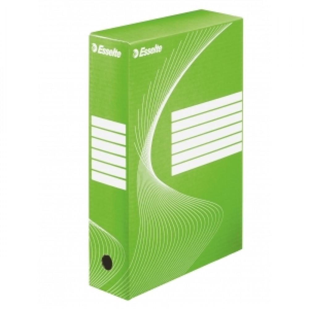 Archívny box 80mm Esselte zelená/biela