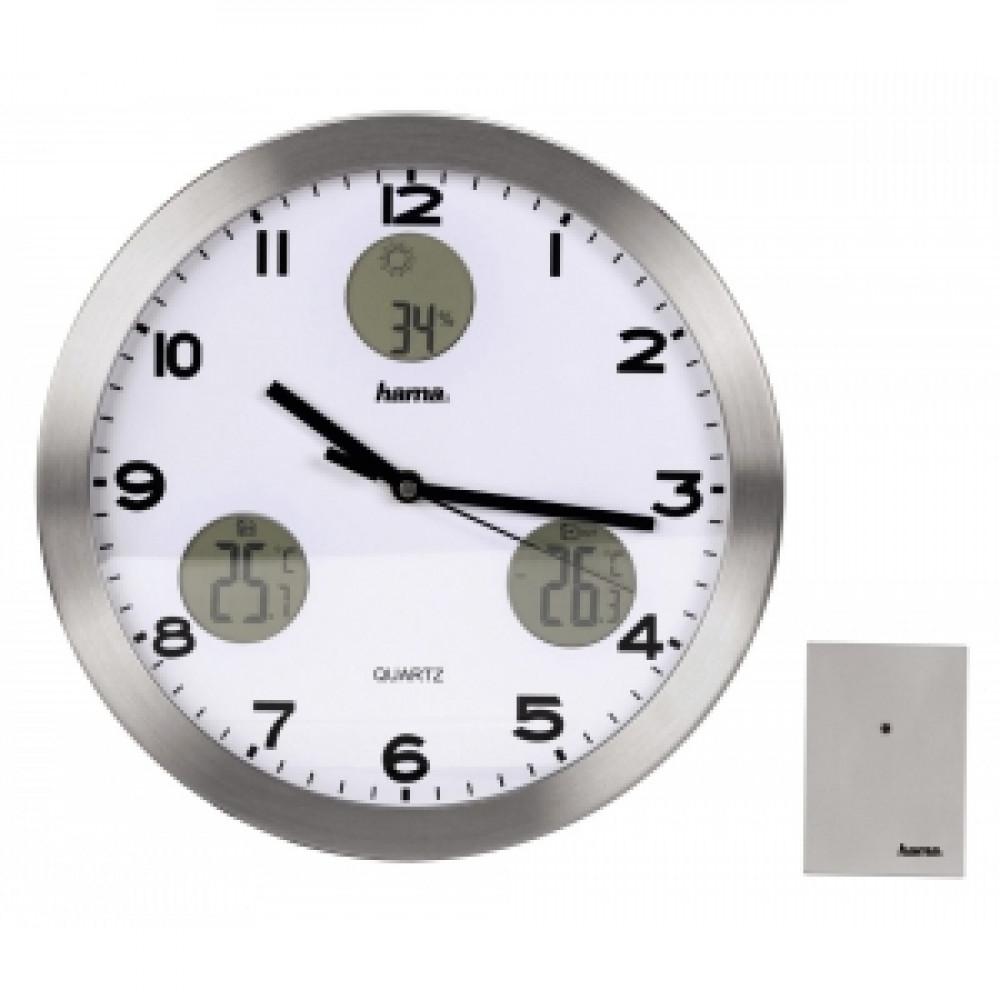 Nástenné hodiny AG-300 s meteostanicou