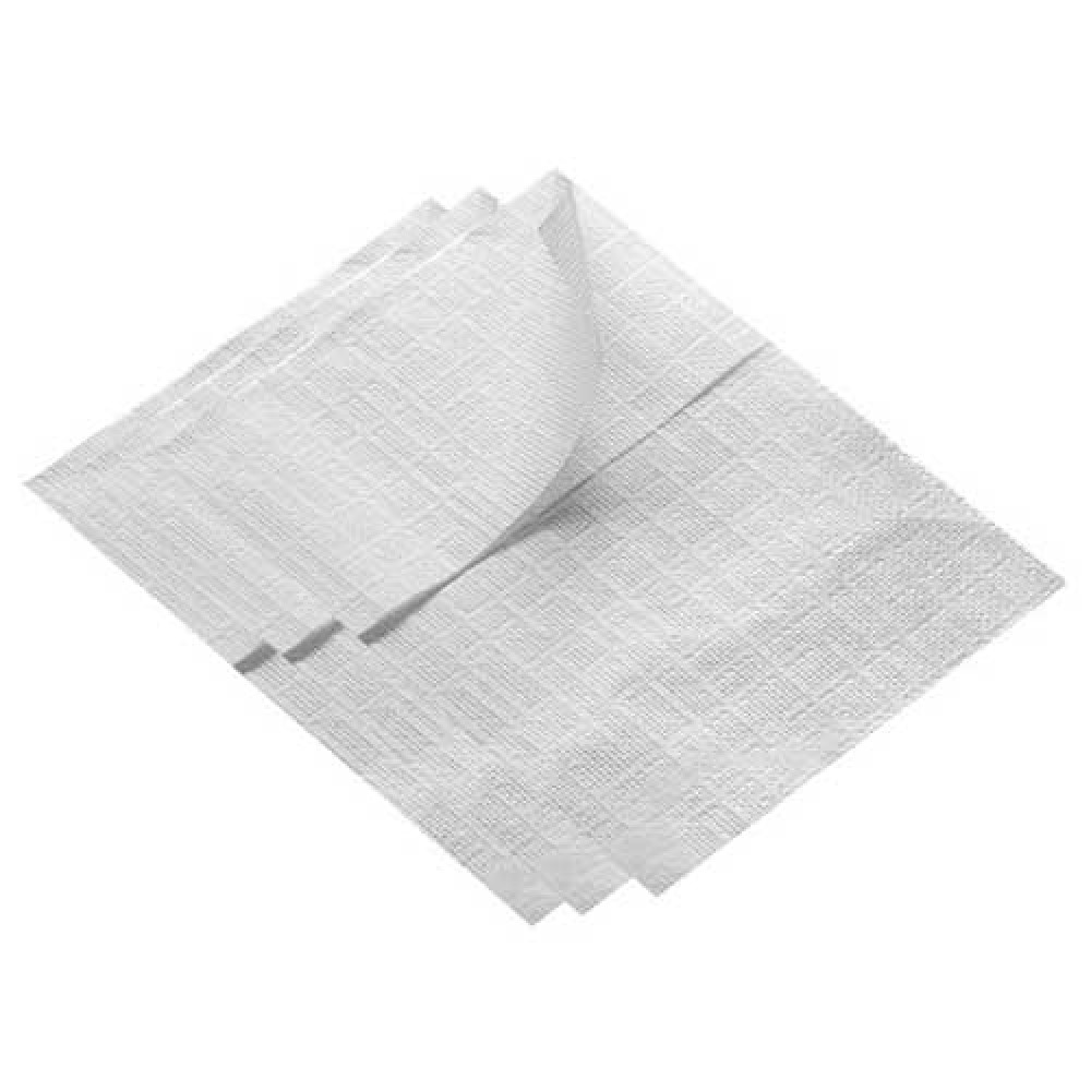 Obrúsky do zásobníka 1 vrstva, 16 x 9,5cm, biele