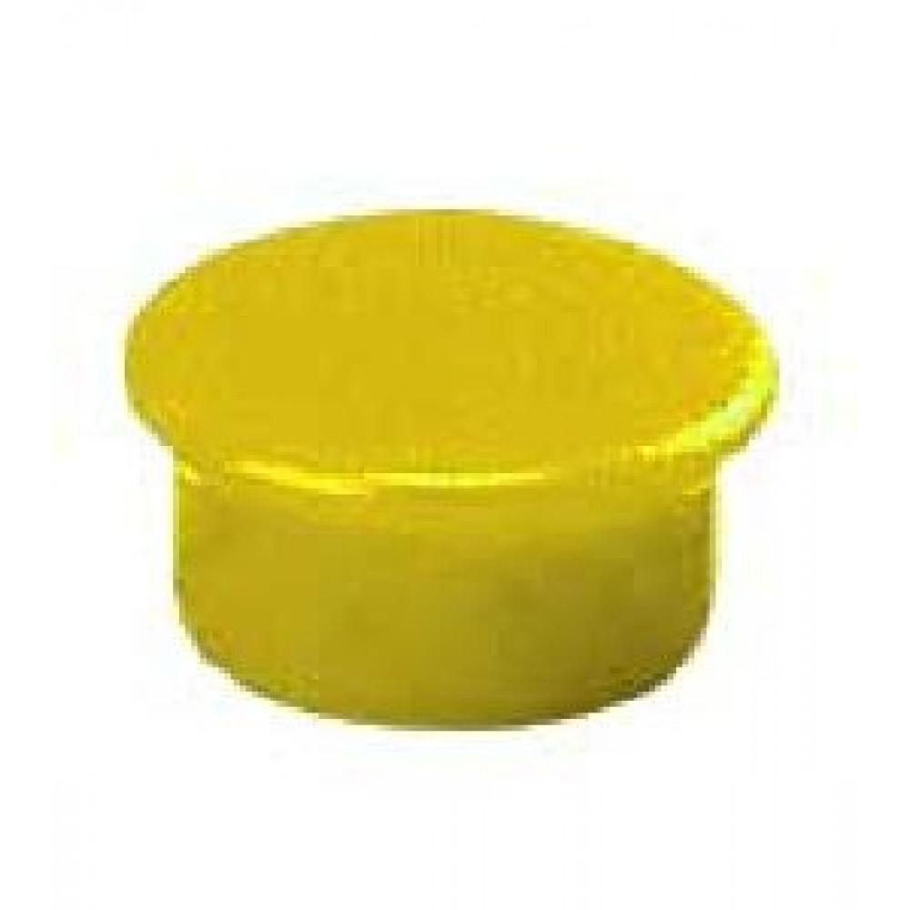 Magnet 13 mm žltý
