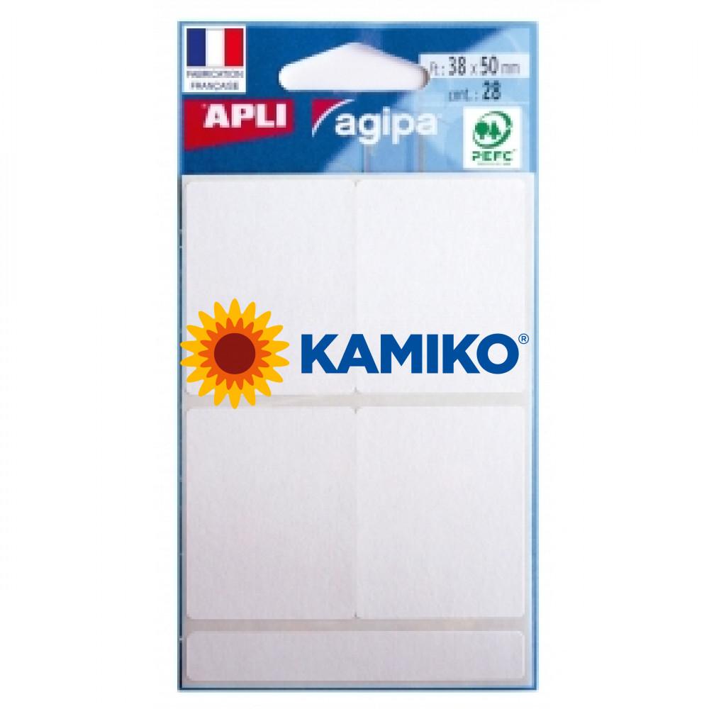 Etikety Agipa , 38x50 mm
